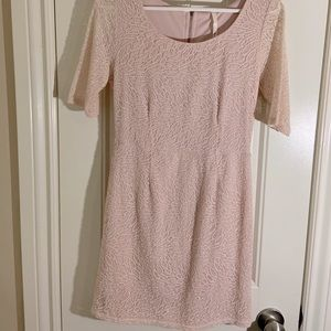 ❗️5 for $25 ❗️hello miss | Lace Dress | Dusty Rose